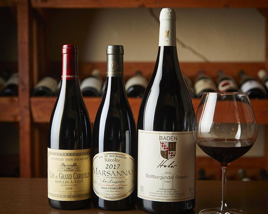 世界の赤ワイン